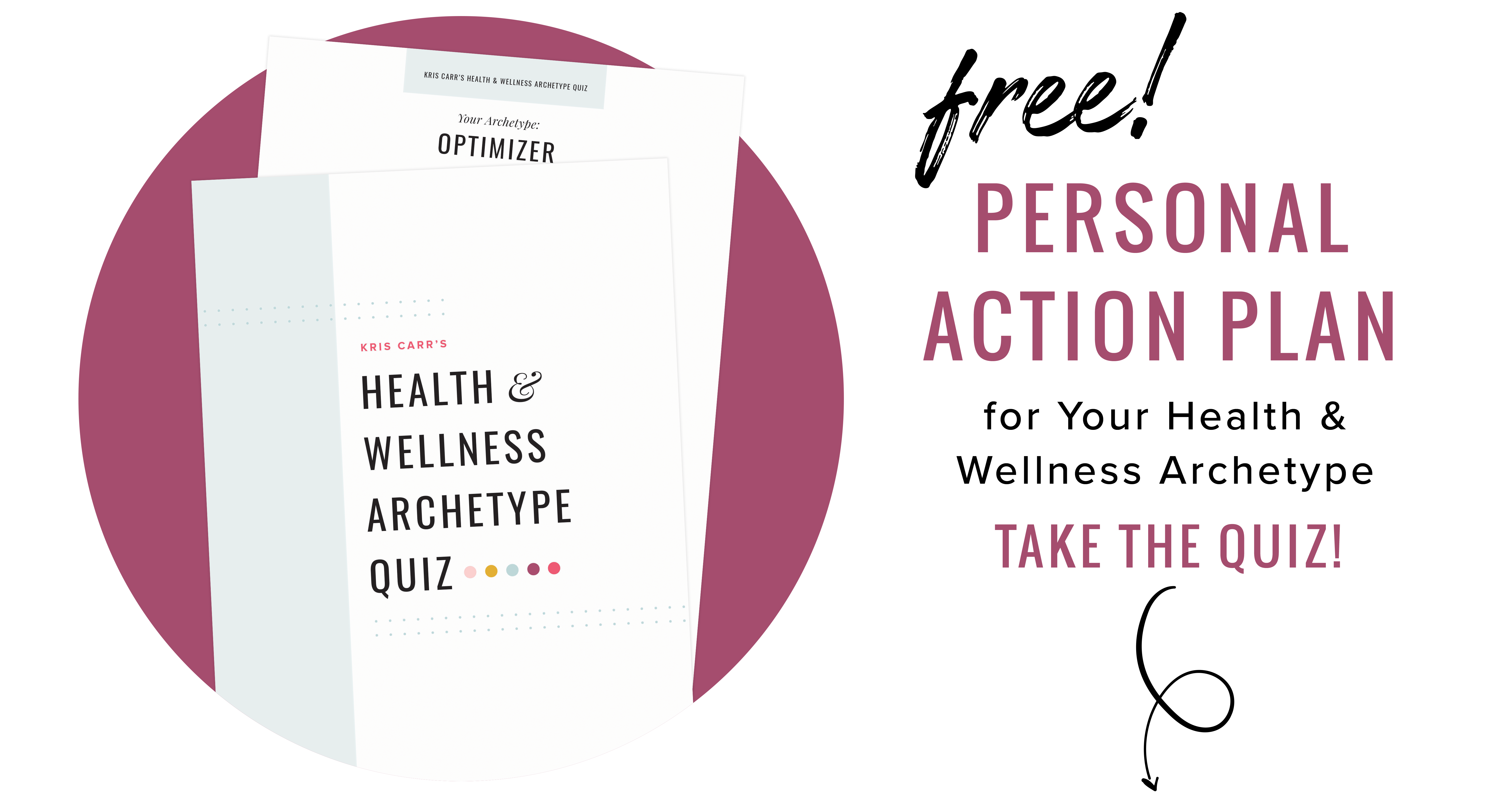 Take the free health quiz now!